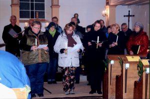 Gottesdienst in Tüngeda